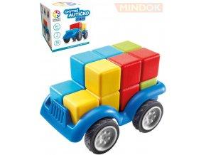 137576 mindok hra smart chytre auticko mini 3d hlavolam skladacka plast