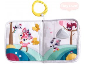 136023 tiny love baby zavesna knizka se zviratky tiny princess tales pro miminko