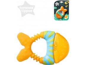 TOMMEE TIPPEE Baby kousátko chladící rybka pro miminko