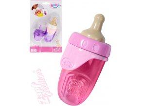 ZAPF Baby Annabell Kojenecká lahvička s víčkem pro panenku miminko 3 barvy