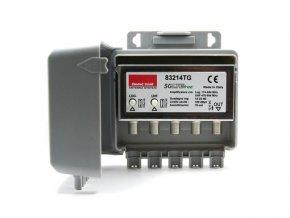 Anténní předzesilovač Emme Esse 83214TG, na stožár, filtr 5G, 1xlog(DAB+UHF) G25dB, 1xUHF G25dB