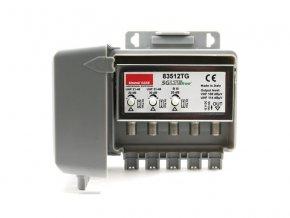 Anténní předzesilovač Emme Esse 83512TG, na stožár, filtr 5G, 1xDAB(VHF III) G20dB, 2xUHF G30dB