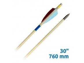 """Lazecký šíp dřevěný Extra 30"""" (760 mm)"""