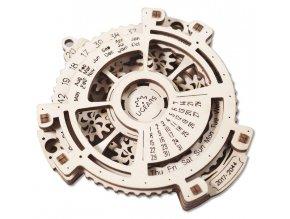 170636 ugears 3d drevene mechanicke puzzle kalendar