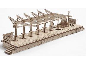 168452 ugears 3d drevene mechanicke puzzle nastupiste