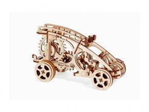 Wood Trick 3D mechanické puzzle - Auto Buggy