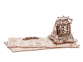 Wood Trick 3D mechanické puzzle - Kolo štěstí