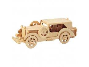 Woodcraft Dřevěné 3D Ford model V8