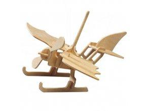 160523 woodcraft drevene 3d puzzle hydroplan