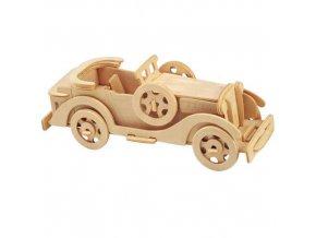 Woodcraft Dřevěné 3D puzzle Packard Twelve Car