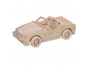 Woodcraft Dřevěné 3D puzzle velké BMW