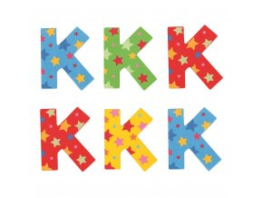 Bigjigs Toys hvězdičkové písmenko K