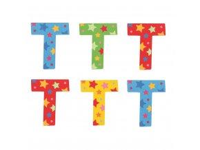 Bigjigs Toys hvězdičkové písmenko T