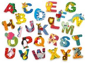 Dřevěná abecedy 1ks - písmenko Q