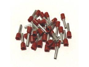 15354 dutinka izolovana prurez 1 5mm2 delka 12mm ruda