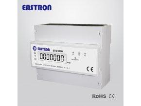 18573 elektromer na din listu trifazovy digitalni sdm530d 1 tarif