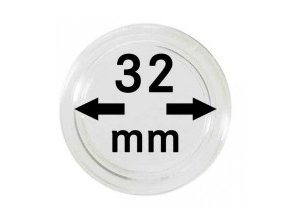 18741 kapsle na mince 32 mm