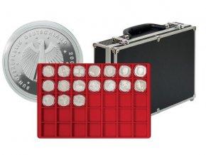 18897 velky kufrik na mince s 8 podnosy 2338 280