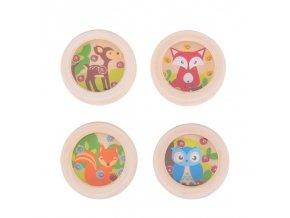 Bigjigs Toys hra minilabyrint zvířátka 1ks Srnka Bigjigs Toys hra minilabyrint zvířátka 1ks Srnka