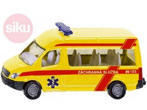124557 siku auto mercedes benz sprinter zachranna sluzba cr ambulance model 1083