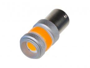 Autožárovka LED BAU15s 9-60V 12W STU oranžová