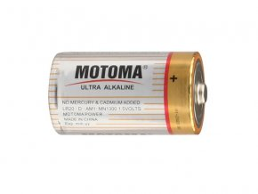 289802 baterie d lr20 alkalicka motoma ultra alkaline