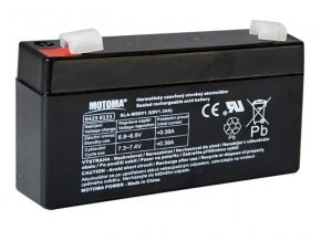 Baterie olověná 6V 1.3Ah MOTOMA