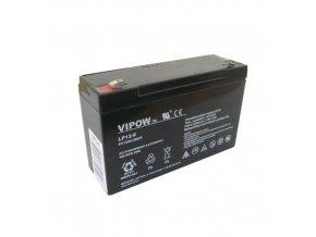 255743 baterie olovena 6v 12ah vipow