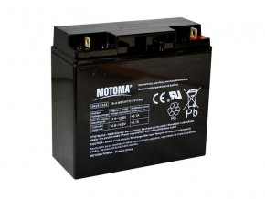 186332 baterie olovena 12v 17ah motoma