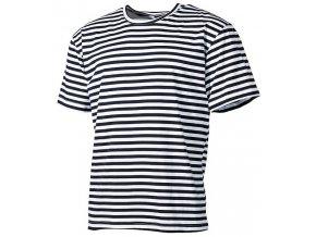 Tričko námořnické s krátkým rukávem (Velikost XXL)