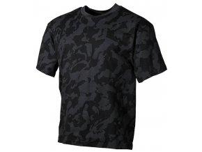 Tričko s krátkým rukávem Night Camo (Velikost XXL)