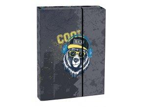 Box na sešity s klopou A5 Cool bear STIL