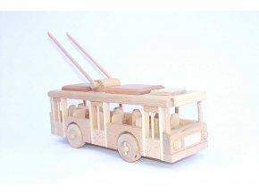 Ceeda Cavity - přírodní dřevěný trolejbus