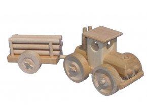 Ceeda Cavity Velký traktor s kládama přírodní