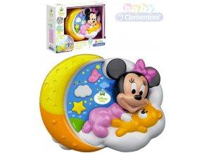 298076 clementoni baby projektor minnie mouse kouzelne hvezdy na baterie svetlo zvuk