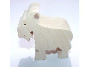 Fauna Dřevěné zvířátko koza