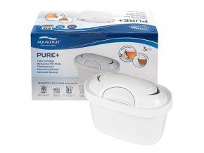 Filtr do konvice AQUALOGIS Pure Plus pro BRITA Maxtra Plus 3ks