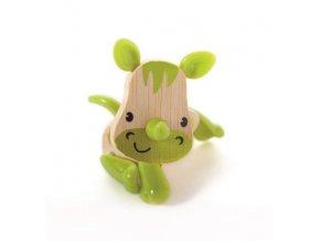 Hape Dřevěná zvířátka nosorožec