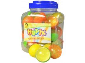 150527 hopskulicka citrus 4cm hopik balonek skakaci ovoce zelenina ruzne druhy