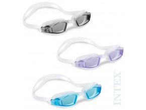 INTEX Brýle plavecké do vody Free Style různé barvy 55682
