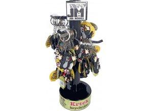 151151 jiri models klicenka 3d krtek krtecek privesek na klice plast