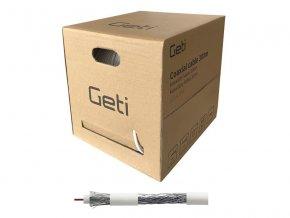 Koaxiální kabel Geti 107AL PVC (300m)