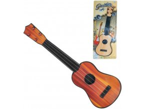 Kytara dětská klasická 40cm španělka 2 barvy na kartě plast