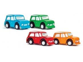 Le Toy Van Barevné natahovací autíčko 1 ks