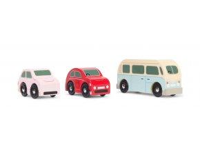 Le Toy Van Set autíček Retro
