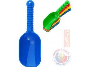 LORI 220 Kupecká lopatka na písek 24cm 4 barvy plast