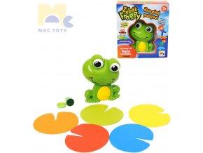 197993 mac toys hra pohybova zabak froggy na baterie spolecenske hry