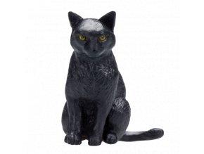 Mojo Animal Planet Kočka černá sedící