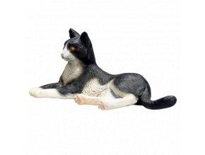 Mojo Animal Planet Kočka černobílá ležící