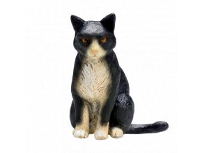 Mojo Animal Planet Kočka černobílá sedící